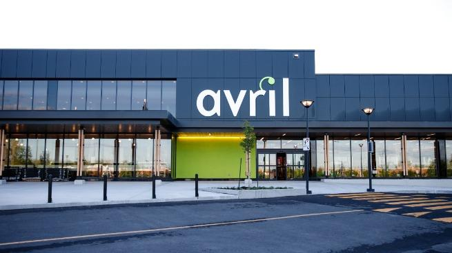 Outside of Avril Supermarché's ninth location opening this summer
