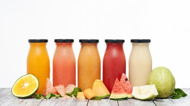 Enjoy some tropical fruit shake or juice during summer. The rich vitamin A guava, attractive orange color, heat release function of lemon or watermelon's red sexy colour would bring up you day.
