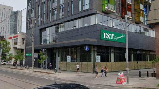 Rendering of T&T Supermarket's Chinatown location