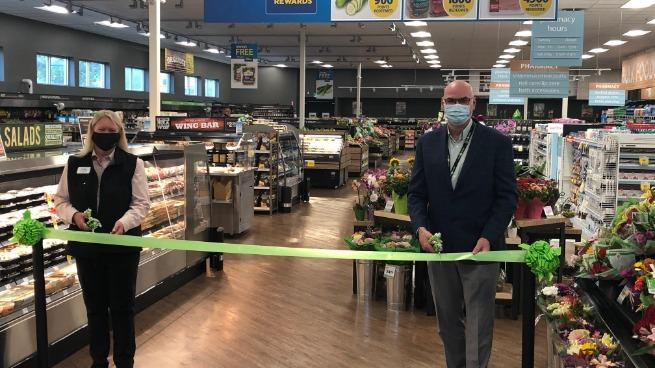 Ribbon cutting, Fort McMurray