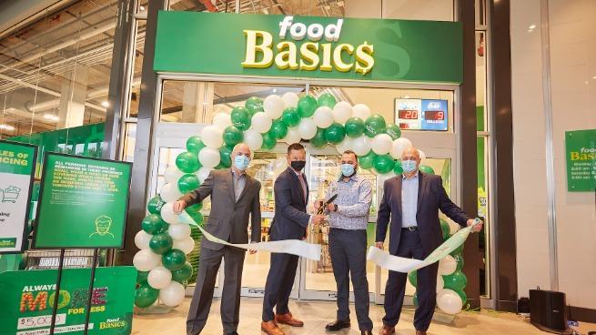 Food Basics grand opening